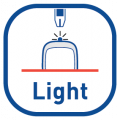 Strip port indication light